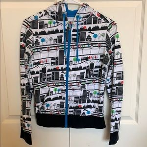 City pattern sweatshirt